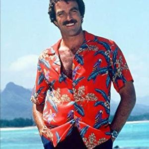 Paradise Found Hawaiian Tom Selleck Shirt